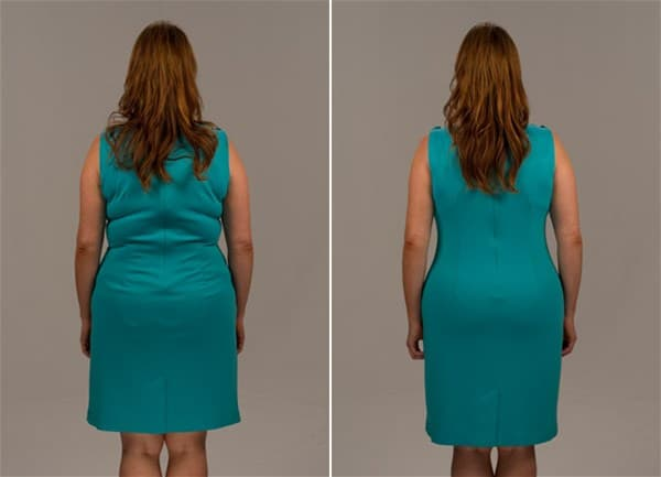 Фото до и после Slim Shapewear (1)