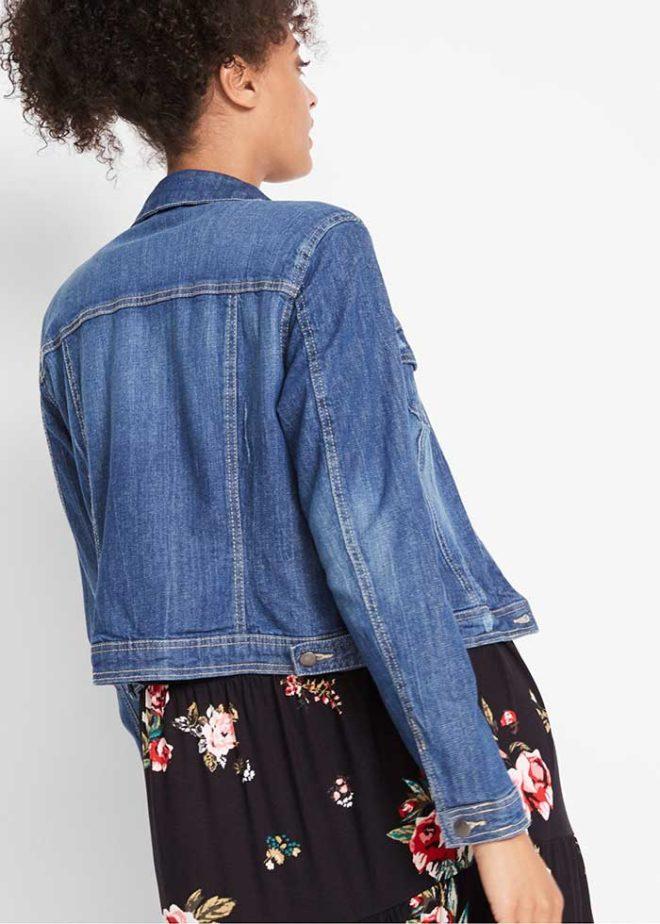 Джинсовая куртка от Maite Kelly фото сзади
