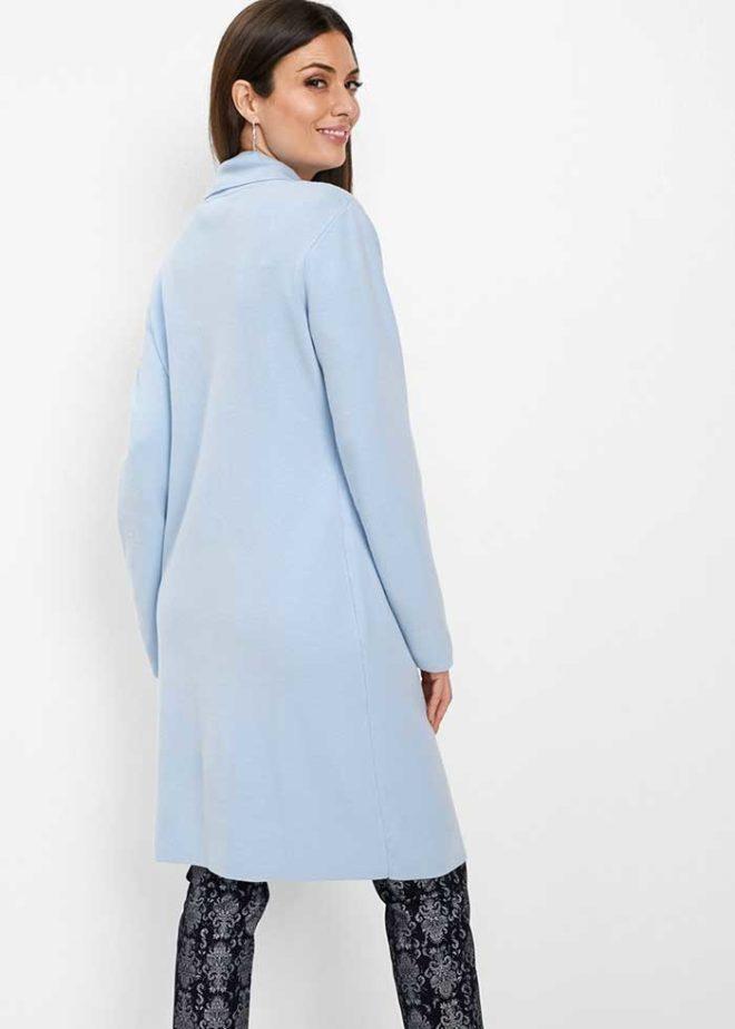 Голубое пальто bonprix