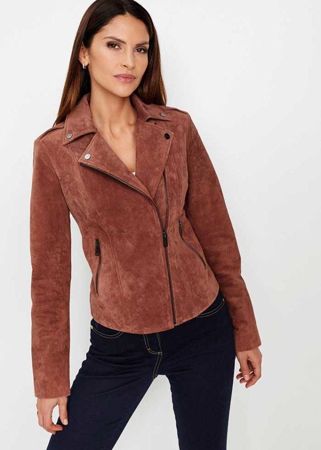 Куртка Бонприкс из натуральной кожи
