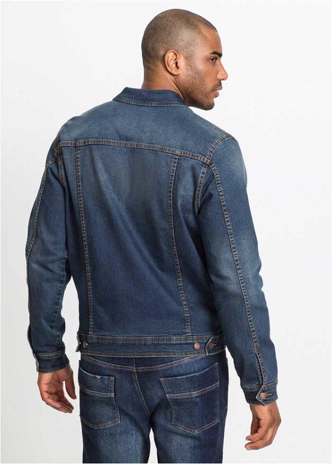 Мужская джинсовая куртка Бонприкс из денима фото 2