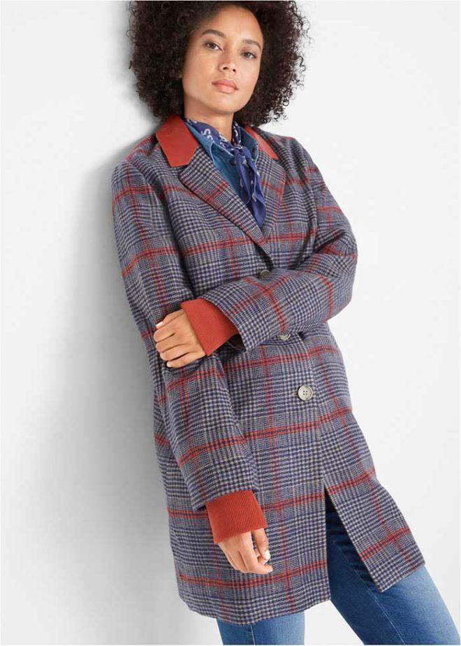 Вязанное пальто bonprix