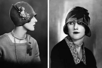 Эта шляпка вошла в моду в СССР в 1920х годах